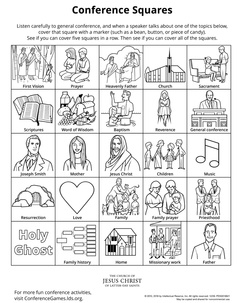 General Conference Activity Coloring Sheets Favorites Hey
