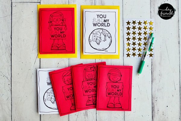 "#LightTheWorld-2019-""One by One"" - Children's Service Calendar, Bingo Board, & Thank You Cards from Hey Friend Shop"