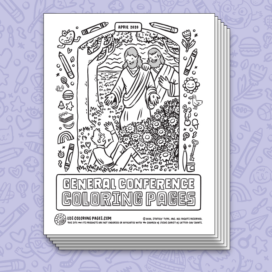 General Conference Activity Coloring Sheets Favorites Hey Friend